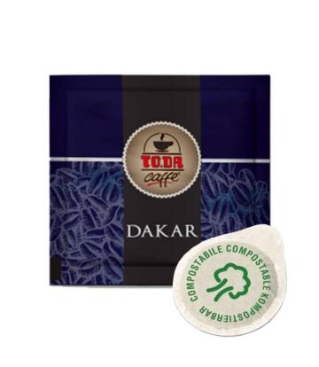 150 Cialde caffè compostabili To.da. Dakar