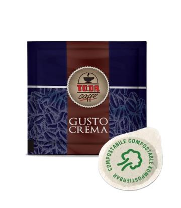 150 Cialde caffè compostabili To.da. gusto crema