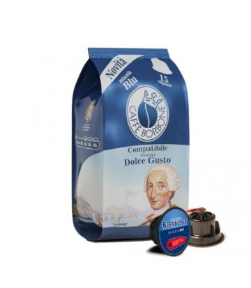 15 Capsule Caffè Borbone dolce gusto BLU