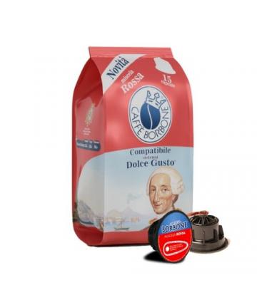 15 Capsule Caffè Borbone dolce gusto Red