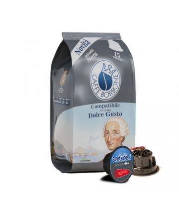 15 Capsule Caffè Borbone dolce gusto NERA