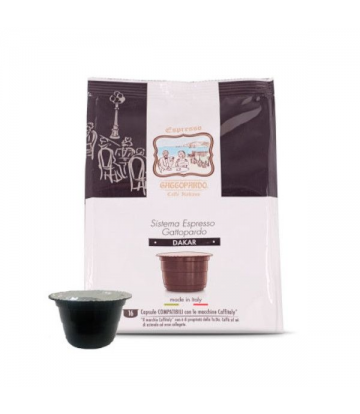 16 capsule caffè Toda Gattitaly dakar compatibili caffitaly