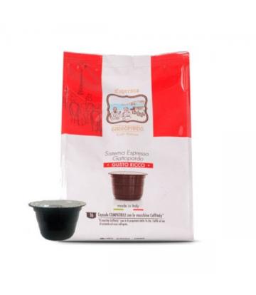 16 capsule caffè Toda Gattitaly ricco compatibili caffitaly