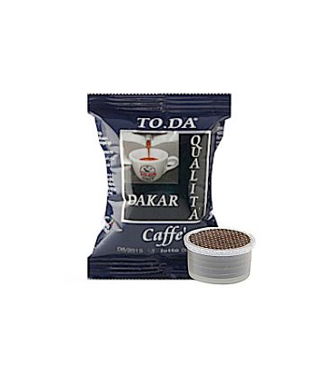 100 capsule Toda caffè dakar compatibili Lavazza Espresso Point