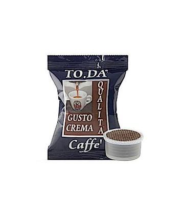 100 capsule Toda caffè gusto crema  compatibili Lavazza Espresso Point