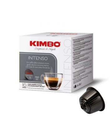 16 capsule caffè Kimbo INTENSO compatibili nescafè dolce gusto