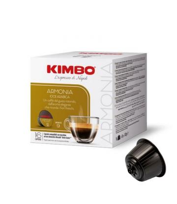 16 capsule caffè Kimbo NAPOLI compatibili nescafè dolce gusto