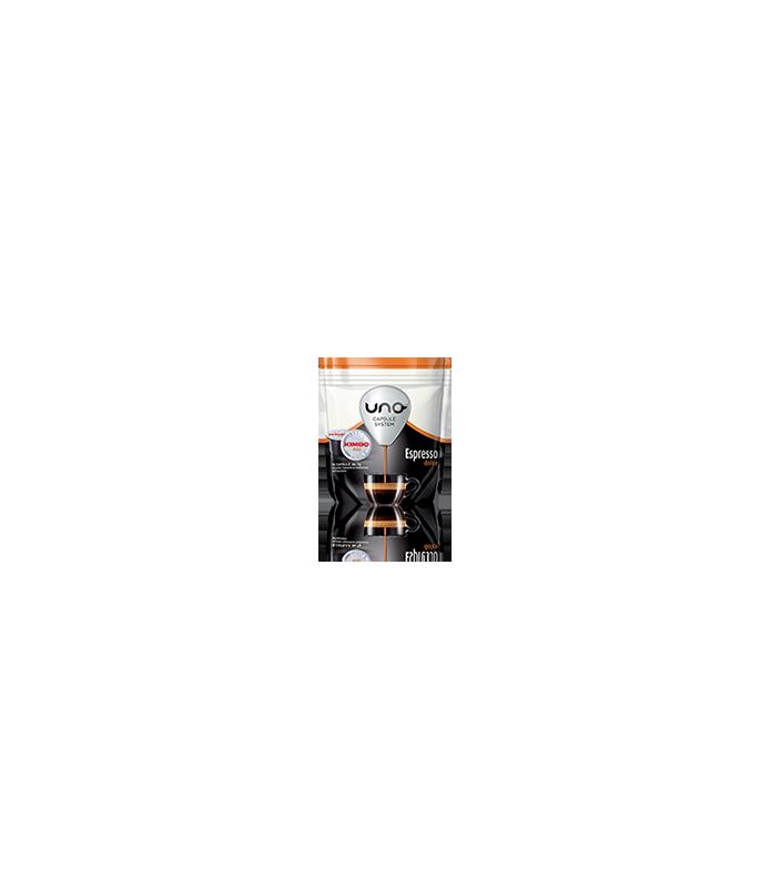 16 capsule Kimbo caffe Espresso Dolce per macchina UNO Capsule System Kimbo e Illy