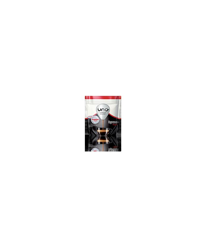 16 capsule Kimbo caffe Espresso Napoli per macchina UNO Capsule System Kimbo e Illy