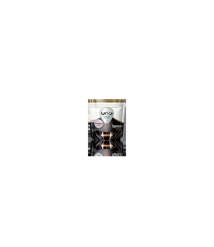 16 capsule Kimbo caffe Espresso Sublime 100% Arabica per macchina UNO Capsule System Kimbo e Illy