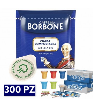 300 Cialde Borbone blu + KIT