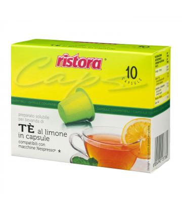 10 capsule Ristora The Limone Nespresso