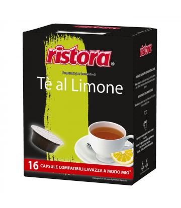 16 capsule Ristora The Limone A modo Mio