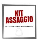 Kit Assaggio Nespresso