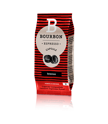 100 Capsule Lavazza Bourbon intenso