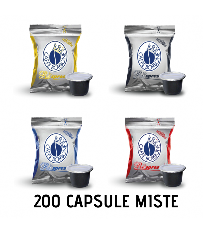 200 CAPSULE BORBONE respresso MISTE
