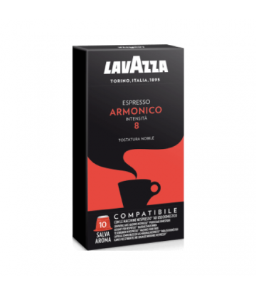 100 Capsule lavazza Nespresso Armonico