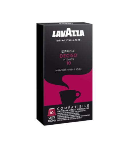 10 Capsule Lavazza compatibili Nespresso Deciso