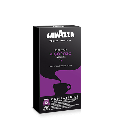 10 Capsule lavazza compatibili Nespresso Vigoroso