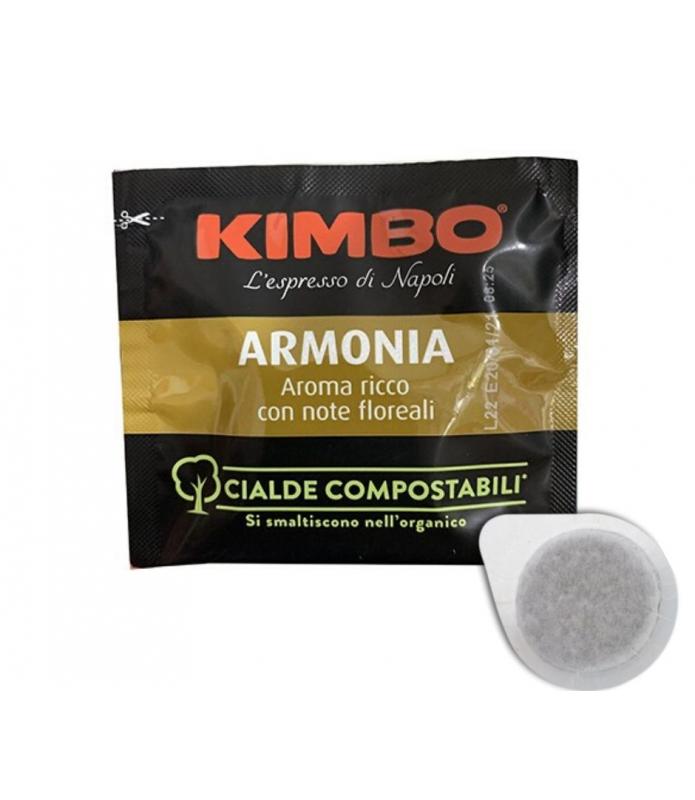 100 Cialde ese 44mm Kimbo 100% arabica